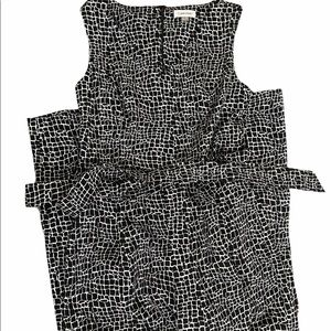 Calvin Klein Suit romper size 6. Black and white